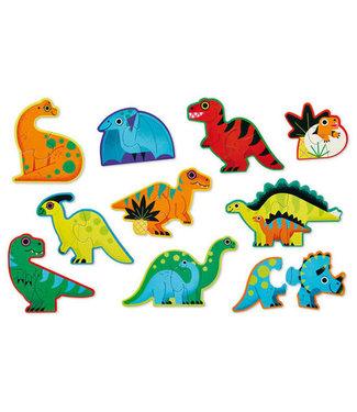 Crocodile Creek Crocodile Creek Puzzle Let's Begin Dino 2+