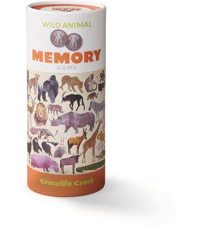 Crocodile Creek | Animal Memory Game | Wild Animals | 72 delig | 3+