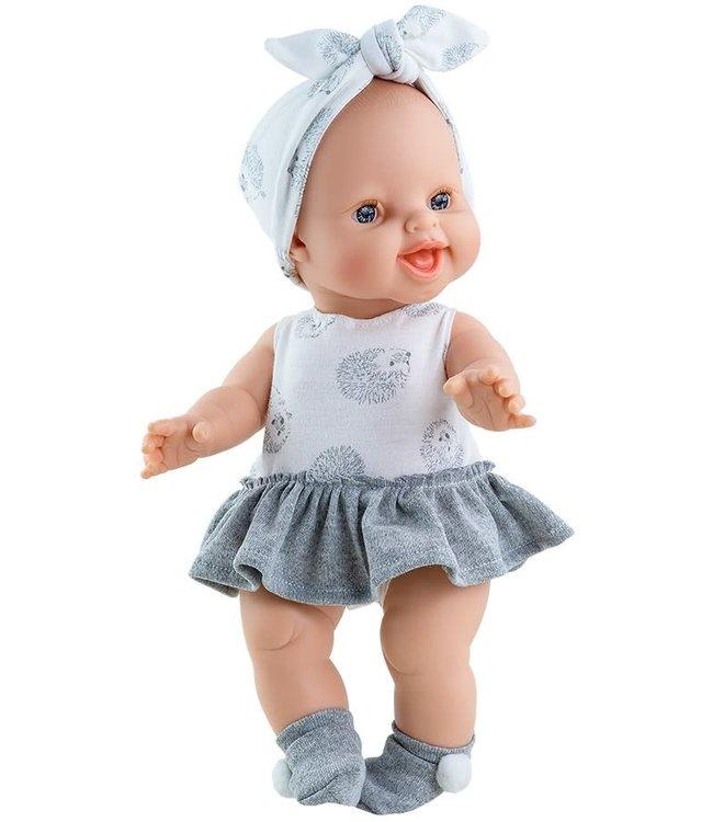 Paola Reina Pop Gordi Meisje Lachend 34 cm  1+