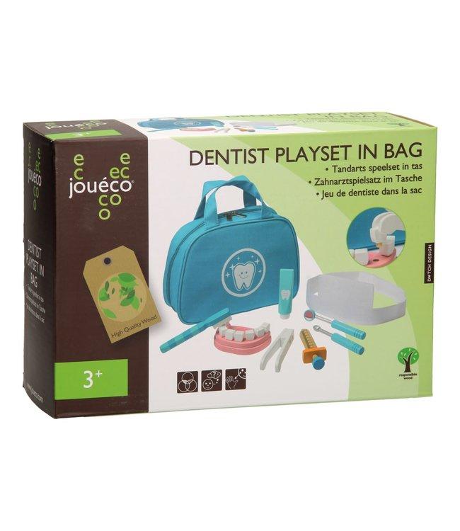 Joueco - Tandarts Speelset in Tas 3+