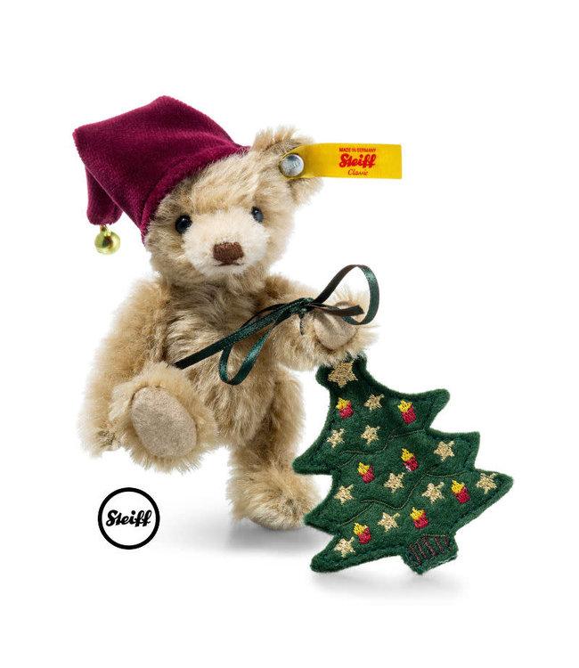 Steiff Teddybear Nic with Christmastree 11 cm