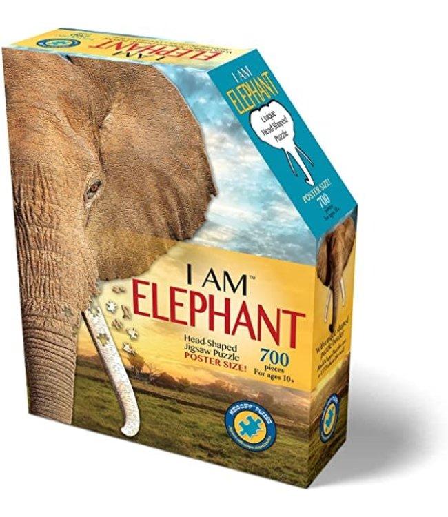 I Am Head Shaped Jigsaw Puzzle Elephant 300 pcs  6+