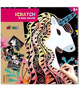 Scratch Avenir Scratch - 4 Magic Unicorn 3+