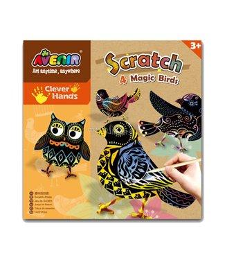 Scratch Avenir Scratch - 4 Magic Birds  3+