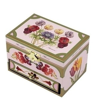 Trousselier Trousselier | Musical Box | Botanical | Pink | with Drawer
