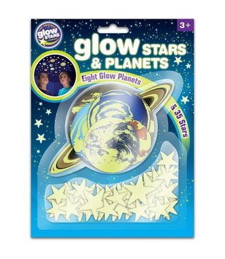 Brainstorm Toys Brainstorm Toys Glow Stars and Planets 6+