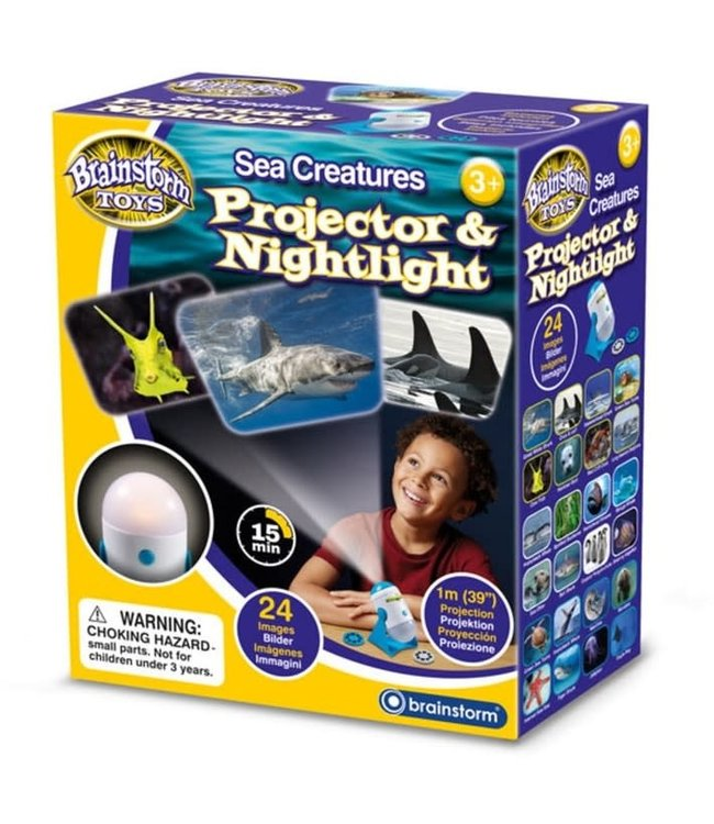 Brainstorm Toys Projector and Nightlight Sea Creatures 3+