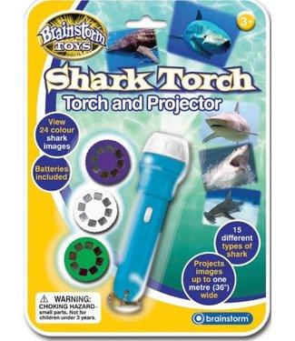 Brainstorm Toys Brainstorm Toys Shark Torch & Projector 3+
