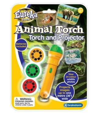 Brainstorm Toys Brainstorm Toys Animal Torch & Projector 3+