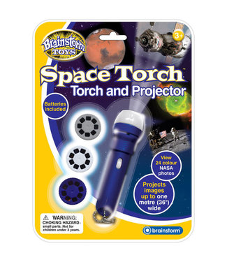 Brainstorm Toys Brainstorm Toys Space Torch & Projector 3+
