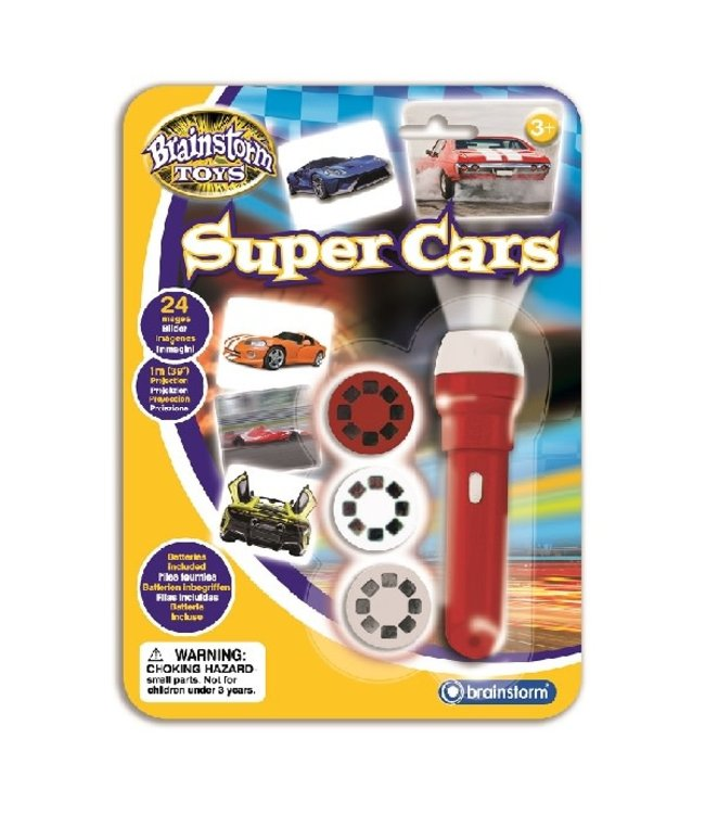 Brainstorm Toys Cars Torch & Projector 3+