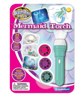 Brainstorm Toys Brainstorm Toys Mermaid Torch & Projector 3+
