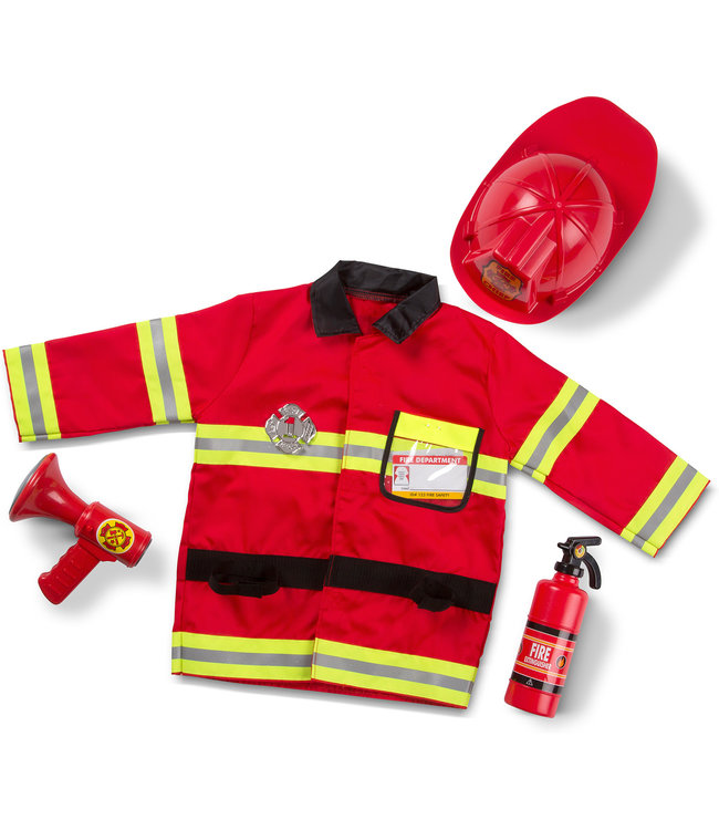 Melissa and Doug Fire Chief Role Play Set 3-6 jaar