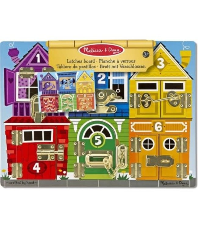 Melissa and Doug | Latches Board | Bord met Grendels | 3+