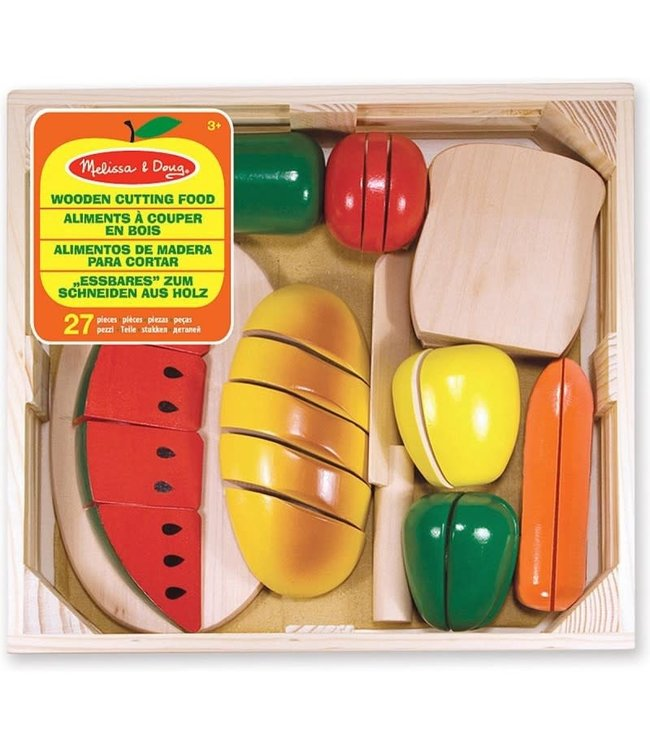Melissa and Doug Wooden Cutting Food 3+