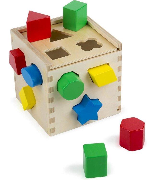 Melissa and Doug Shape Sorting Cube 1+