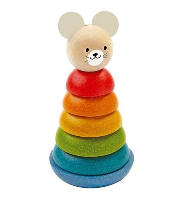 Plan Toys Stacking Ring  +18 mnd