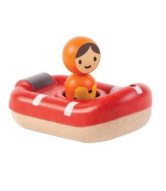 Plan Toys Plan Toys | Houten Boot | Coast Guard Boat | +