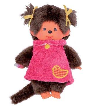 Monchhichi Monchhichi Meisje Pink Fluffy Dress 18 cm 2+