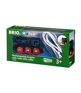 Brio Brio Houten Treinbaan Oplaadbare Trein met USB kabel 3+