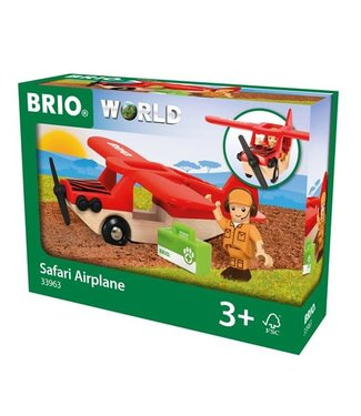 Brio Brio Houten Treinbaan Safari Vliegtuig 3+