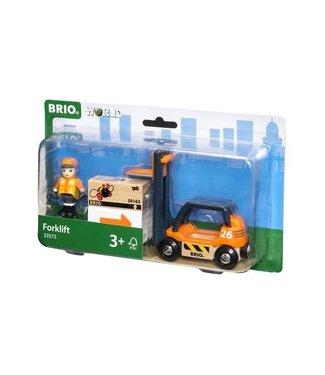Brio Brio Houten Treinbaan Vorkheftruck 11 cm 3+