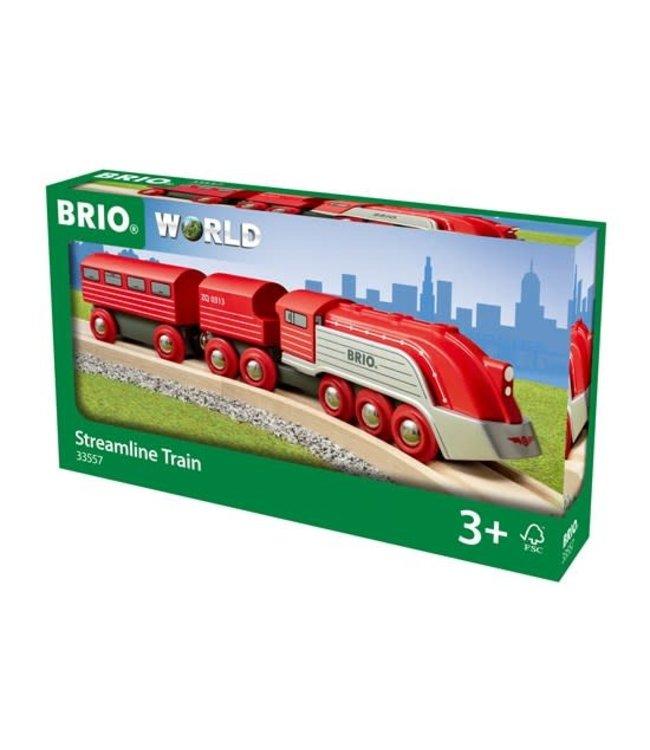 Brio Houten Treinbaan Gestroomlijnde Trein 3+