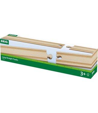 Brio Brio Houten Treinbaan Rechte Rails Lang 4 x 216 mm 3+