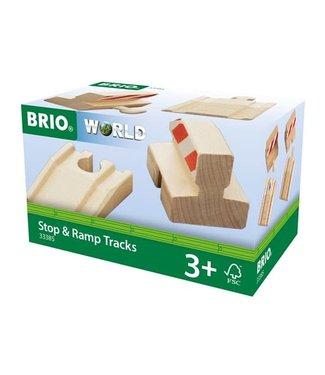 Brio Brio Houten Treinbaan Set met Stootblokken 4 x 54 mm 3+