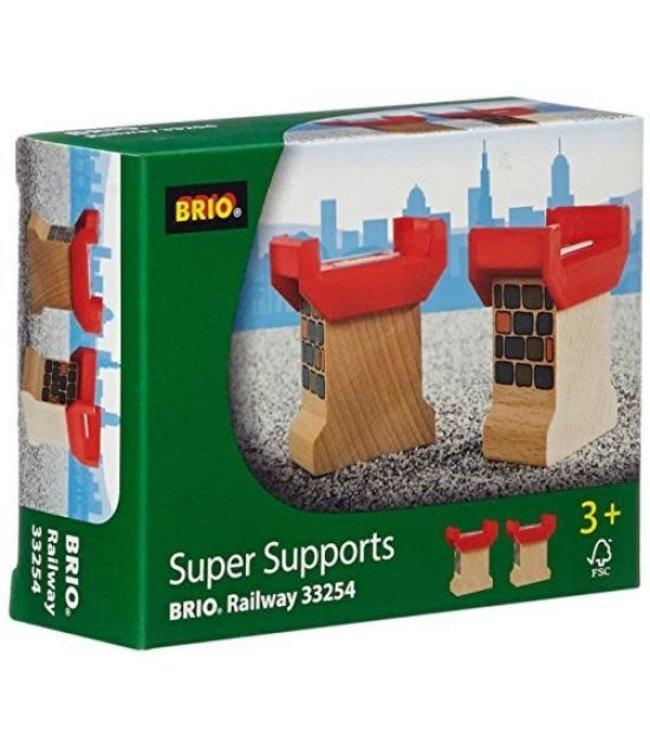 Brio Houten Treinbaan Super Brugpijlers 3+