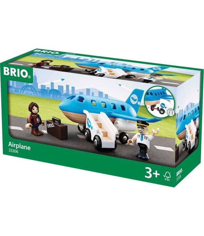Brio Houten Treinbaan Vliegtuig Boarding Speelset 3+