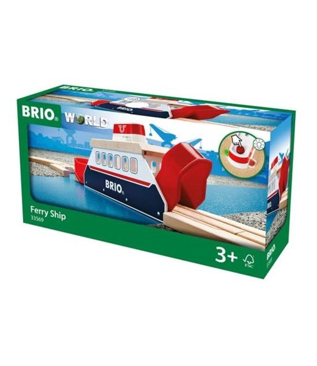 Brio Houten Treinbaan Veerboot 366 mm 3+