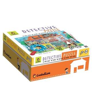 Ludattica Ludattica Detective Puzzle - My Home 108 stukjes 6+