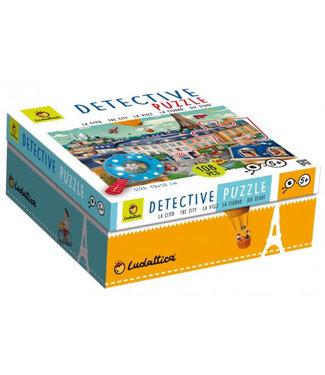 Ludattica Ludattica Detective Puzzle - The City 108 stukjes 6+