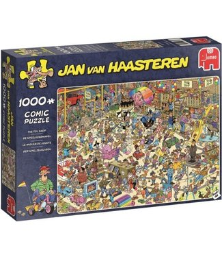Jumbo Jumbo Jan van Haasteren Puzzel De Speelgoedwinkel 1000 stukjes
