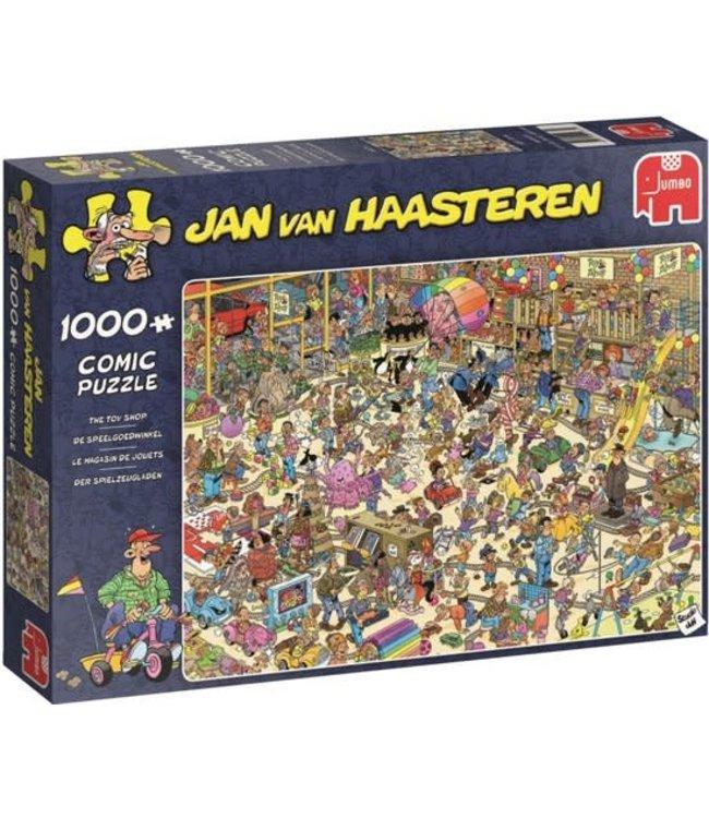 Jumbo Jan van Haasteren Puzzel De Speelgoedwinkel 1000 stukjes