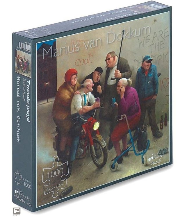 Art Revisited Marius van Dokkum Puzzel Tweede Jeugd 1000 stukjes