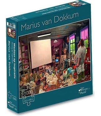 Art Revisited Art Revisited Marius van Dokkum Puzzel Wachten op Inspiratie 1000 stukjes