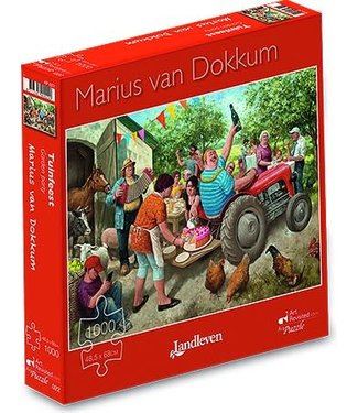 Art Revisited Art Revisited Marius van Dokkum Puzzel Tuinfeest 1000 stukjes