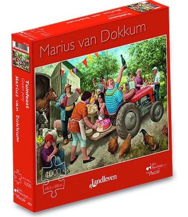 Art Revisited Marius van Dokkum Puzzel Tuinfeest 1000 stukjes