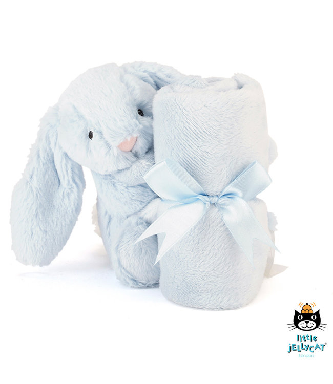Jellycat Bashful Blue Bunny Soother 34 cm