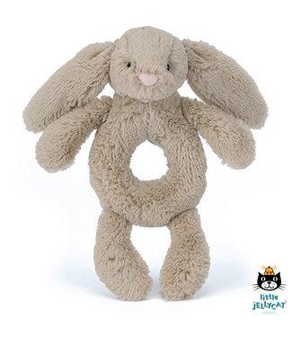 Jellycat Jellycat Bashful Beige Bunny Grabber Rattle 18 cm