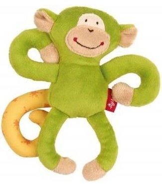 Sigikid Sigikid   Red Stars  Textile Clip   Monkey   Green   17 cm   0+