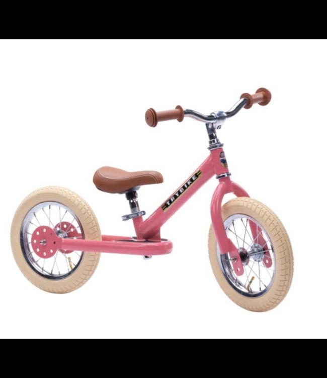 Trybike Steel Pink Vintage Edition 18 mnd - 6 jaar
