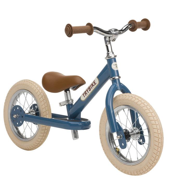 Trybike Steel Blue Vintage Edition 18 mnd - 6 jaar