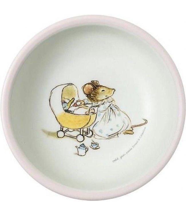 Petit Jour Schaaltje 14 cm Ernest & Celestine lichtroze rand