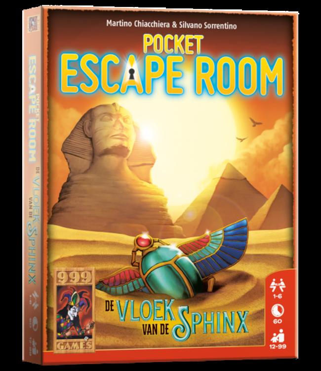 999 Games | Escape Room | Pocket | De Vloek van de Sphinx | 12+
