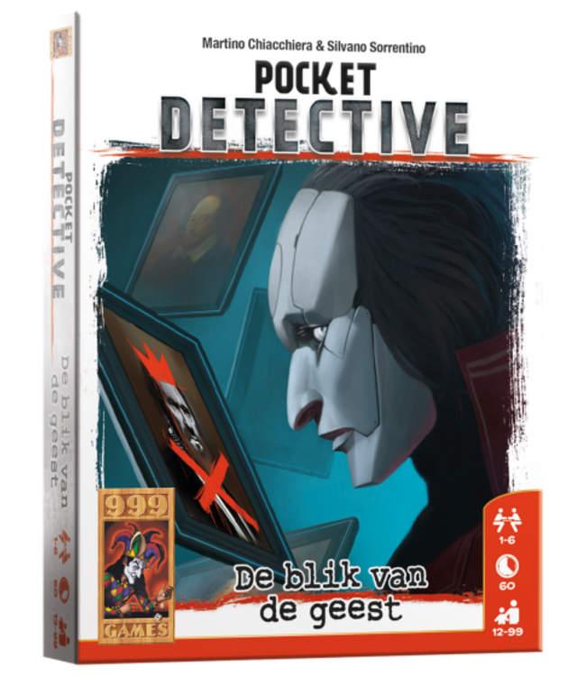 999 Games | Breinbreker | Pocket Detective | De blik van de geest | 12+