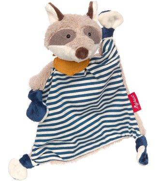 Sigikid Sigikid   Baby Classic   Lappenpop   Wasbeer   Blauw   25 cm   0+