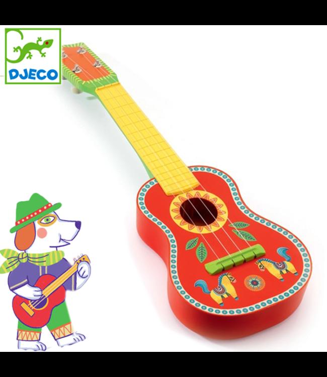 Djeco | Animambo | Houten Guitar | 53 cm | 3+